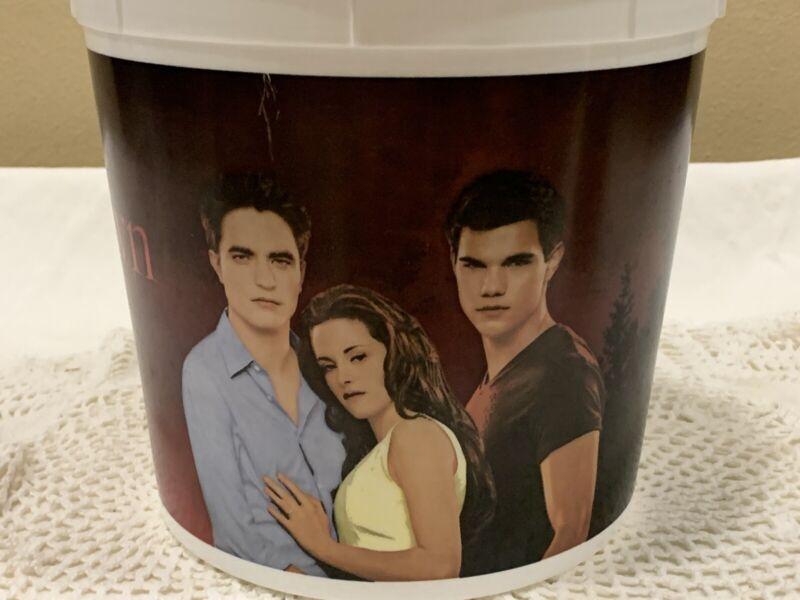 Twilight Saga Breaking Dawn Movie Popcorn Bucket Collectible 11-18-11