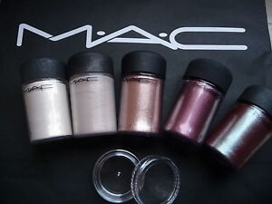 Mac cosmetics Pigment-Sample-Set 5 Stück a 0,4 gr, BASICS
