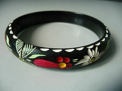 Old Holzreif Bracelet with Alpinem Flower Jewelry/Salzburg
