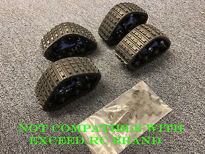 Snow Track for 1/10 Scale RC Truck New (One Set: 4pcs) for sale  La Puente