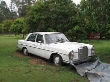 1971 Mercedes-Benz 280  Americana Sedan.  Wreck or resurrect. Gatton Lockyer Valley Preview