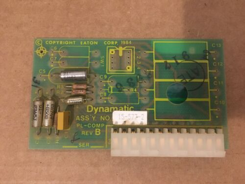 EATON DYNAMATIC 15-577-2 COMPENSATION PCB CIRCUIT BOARD USED
