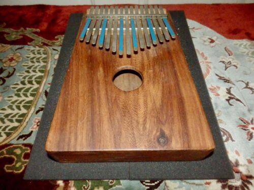 Hugh Tracey KALIMBA ~ vintage ~ very nice gorgeous wood and condition ~ QUALITY!