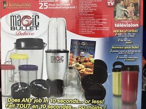 Magic Bullet Deluxe (25 piece) *Brand New*