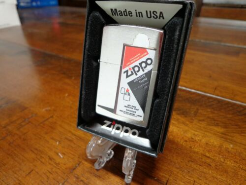 ZIPPO 1983-1989 FUEL CAN DESIGN ZIPPO LIGHTER MINT IN BOX