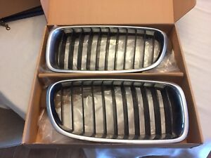 Stock OEM BMW F30 Grill in Chrome