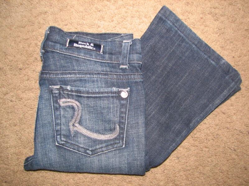 Kids Rock & Republic brand Roth Stretch jeans sz.8/10~SUPER COOL~