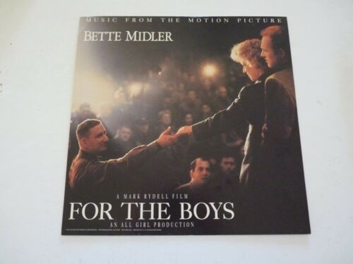 Bette Midler For the Boys Soundtrack 1991 LP Record Photo Flat 12X12 Poster