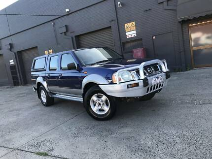 2004 Nissan Navara ST-R 4x4 3.0lt Turbo Diesel Manual LOW KMS West Footscray Maribyrnong Area Preview