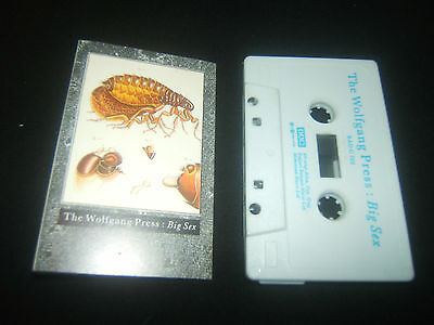 THE WOLFGANG PRESS BIG SEX 4AD UK CASSETTE TAPE - $12.00
