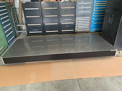 Newport Optical Table 4 X 10 X 8 Thick Comes With 4 Xl-a Isolation Legs