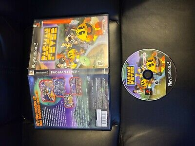 Pac-Man Fever - for PlayStation 2 (PS2), NO MANUAL FAST FREE SHIPPING