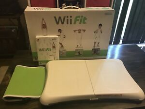 Wii Fit Board and Game Like New Condition