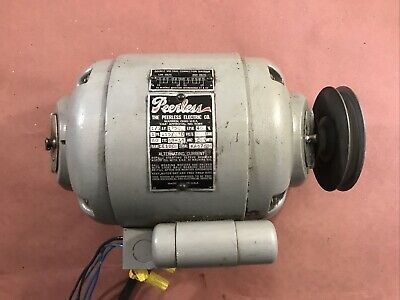 Peerless Motor For Atlas Craftsman 12 Lathe 12 Inch