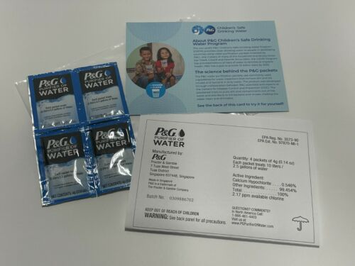 P&G Purifier of Water - Pack of 4