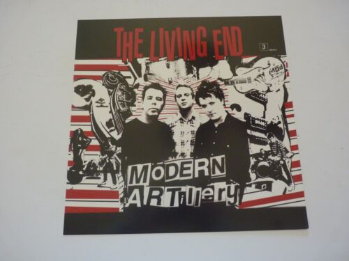 The Living End Modern Artillery LP Record Photo Flat 12x12 Poster