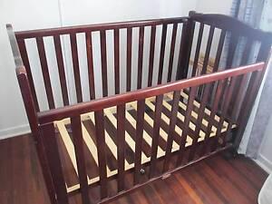 Love n Care baby cot oak colour Vincent Townsville City Preview