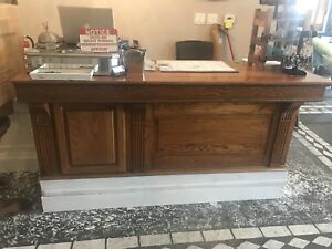 Vintage Reception Desk