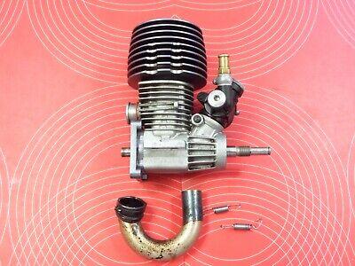 Sirio Engine - Sirio .18 TX Nitro Engine With Header Traxxas T-Maxx Revo