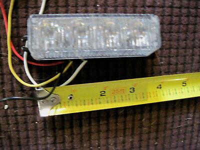 Code 3 Whelen Federal Signal 4 Led Surface Mount Light