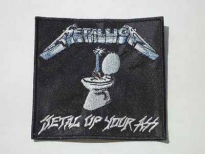 METALLICA METAL UP YOUR ASS EMBROIDERED PATCH