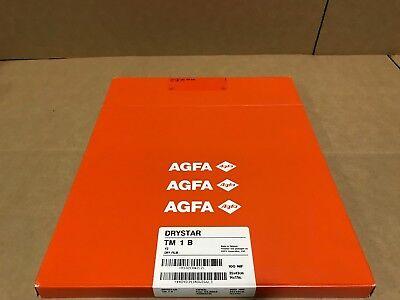 Agfa Drystar Tm 1 B Mammo Dry Medical Film Pack 100 Nif 35x43 14x17inch Print