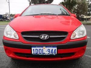 2009 Hyundai Getz Automatic 5 Door Hatchback Wangara Wanneroo Area Preview