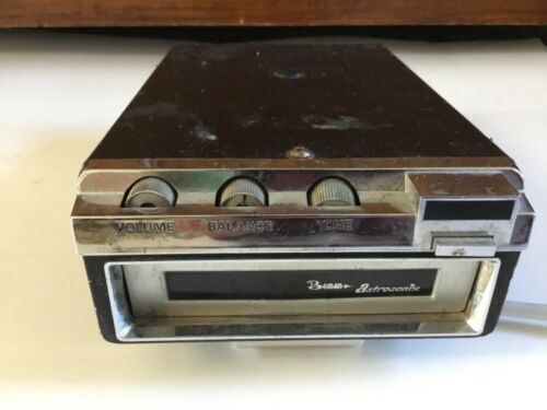 VTG Boman Astrosonix Car Stereo 8 Track Tape Player bm-909