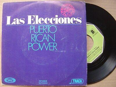 Puerto Rico Power Las Wahl / Quisiera Spain Vinyl 7