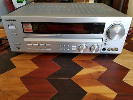 Turntable ready 100w Kenwood Amplifier