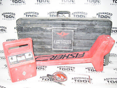 Fisher Research Labs Tw-8800 Multi-frequency Digital Line Tracer Locator Tx