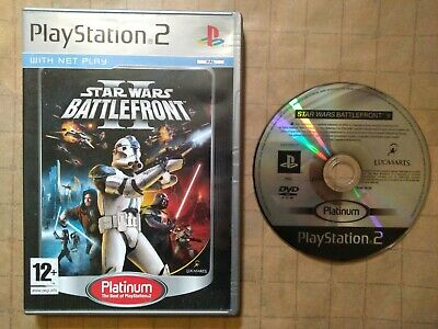 STAR WARS BATTLEFRONT II 2 ~ PAL PlayStation 2 ~ BOXED & FULLY TESTED ~