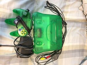 N64 gear and all games