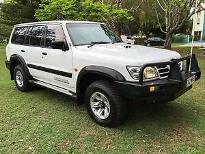 2002 Nissan Patrol 7 SEATER DIESEL TURBO V6 ST PLUS 4X4 RWC REGO Hollywell Gold Coast North Preview