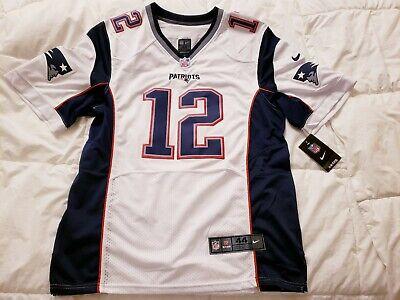f0c5bf6be96 Tom Brady Nike Jersey White (BRAND NEW) - Mens Size 44   Medium