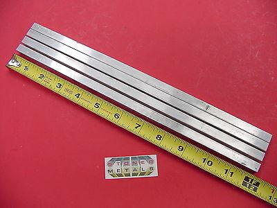 4 Pieces 38 X 38 Aluminum Square 6061 T6511 Flat Bar 12 Long Mill Stock