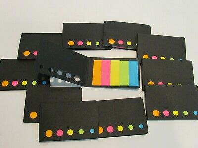 Lot Of 10 Sticky Flag Note Booklets- Each With 150 Flags - Total 1500 Flags