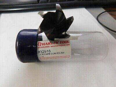 Harvey Tools Keyseat Cutters Full Radius Reduced Shank 63308332