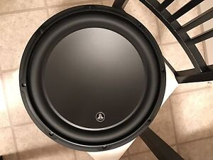 """2 - 12"""" JL Audio W3 Subwoofers 2000 Watts NEW NEVER USED !!"""