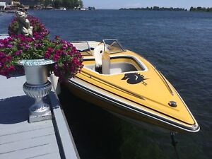 2004 checkmate 24 foot boat bow rider