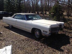 1966 Convertible Cadillac Deville