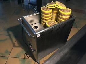 🥟 Commercial Dim Sum Heating Trolley / Warmer Cart (For Yum Cha)