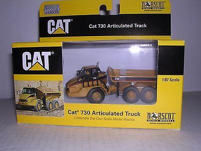 NORSCOT 55130 Caterpillar 730 Articulated Dump Truck H.O.Scale 1:87