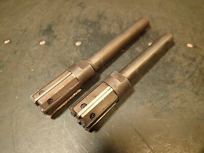 2 Piece Lot Standard Tool Co Adjustable Blade Reamers 1.080 1.0745 34 Shank