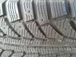 245/65/17 Winter tires new condition on chev rims