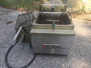 Garland countertop electric deep fryer