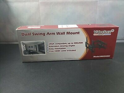 VideoSecu MW340B2 TV Wall Mount Bracket for most 32-65 Inch LED, LCD, OLED and P