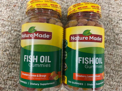Nature Made Fish Oil Gummies - Two Pack - 150 / Exp 10/2020