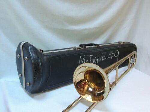 Nice Vintage OLDS 🎵 AMBASSADOR Trombone Refurbished with EXTRAS SN 855738