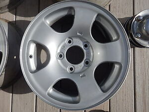 Genuine Ford rims